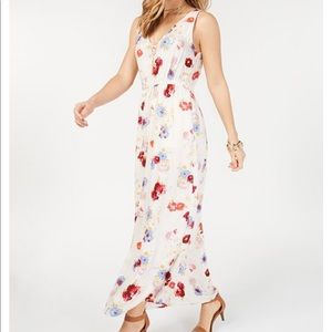 NWT Lucky Brand FLORAL printed maxi dress